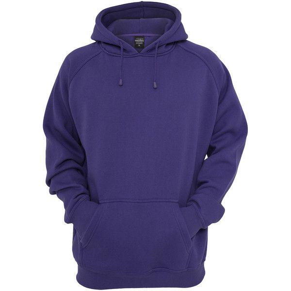 purple hoodie purple urban classics hoodie ❤ liked on polyvore featuring tops, hoodies,  men, blue nluqmbw