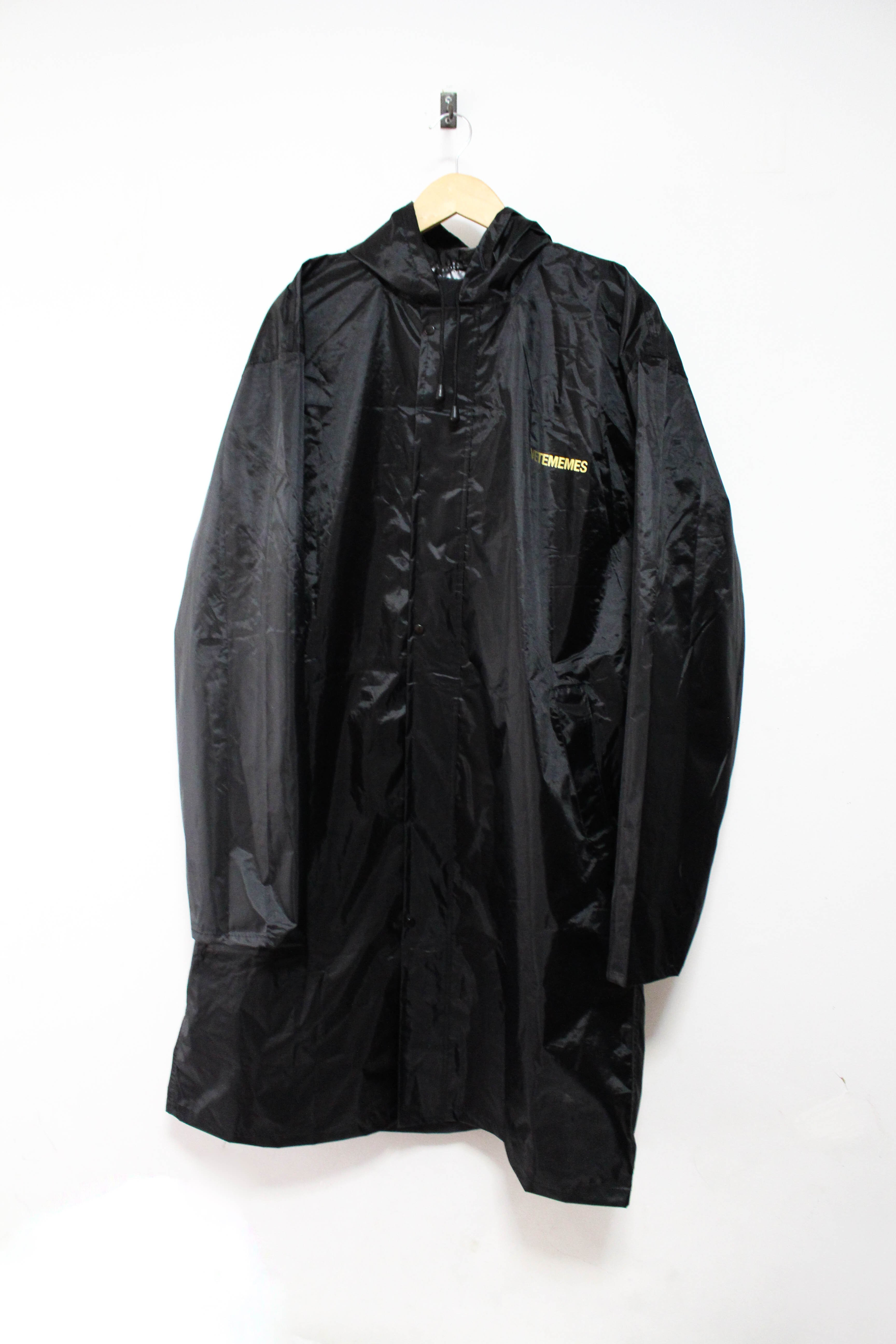 rain coat ... image of vetememes raincoat 2.0 ... dgpmhoo