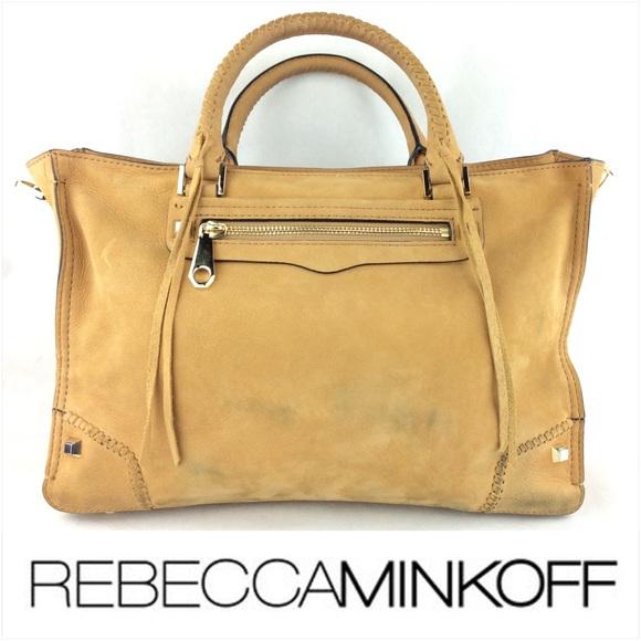 rebecca minkoff bags rebecca minkoff regan satchel suede bag faxybmh