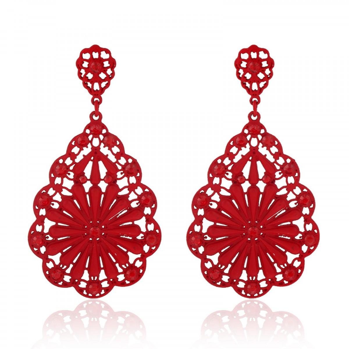 red earrings red drop earrings zyvwbki