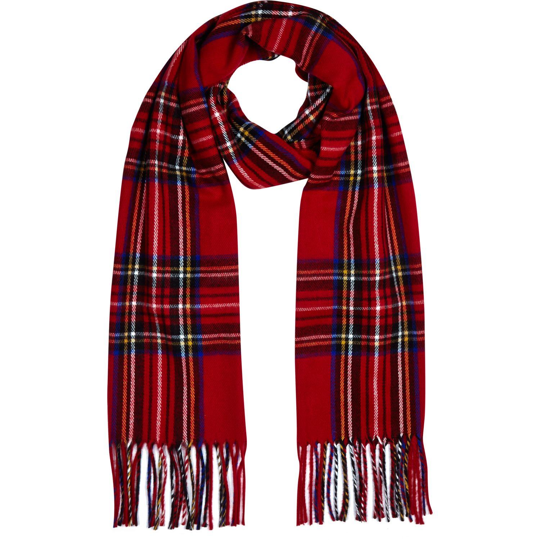 red tartan scarf kikwcmc