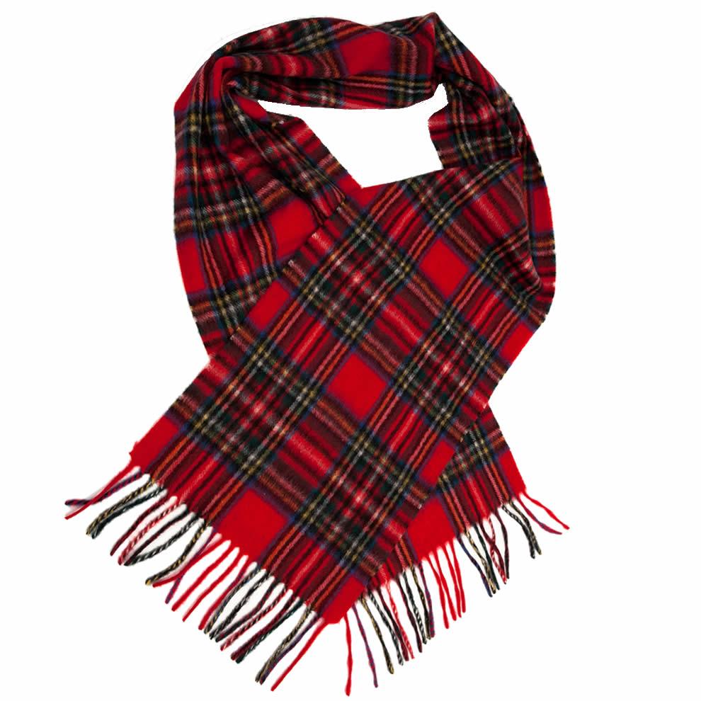 red tartan scarf royal stewart tartan lambswool scarf ... hgdevbv