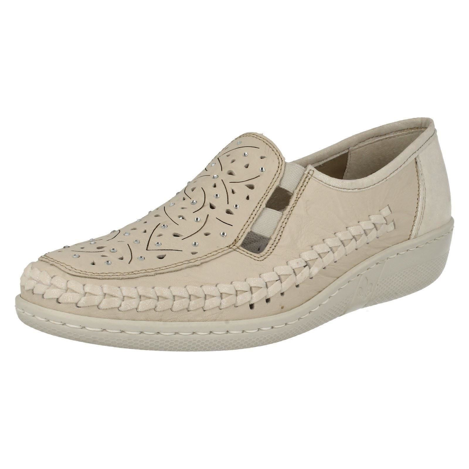 rieker shoes ladies-rieker-antistress-slip-on-casual-shoes-039- vgfmhbf