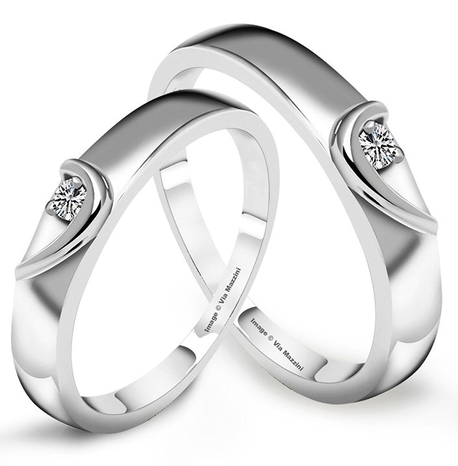rings for men via mazzini platinum plated stainless steel love birds crystal couple rings  for men and bjmxzuk