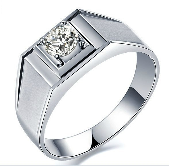 rings for men wholesale 0.45 ct classic diamond ring for man wedding men jewelry ring  engagement sterling zdkqceb