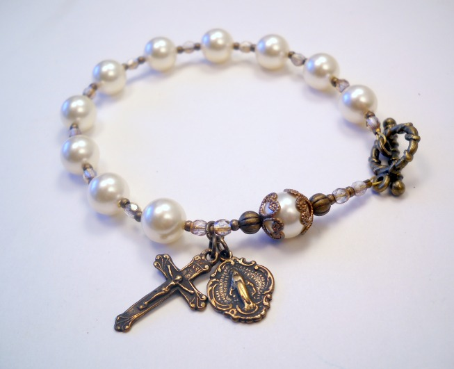 rosary bracelet handmade catholic rosary bracelets vywpmxq