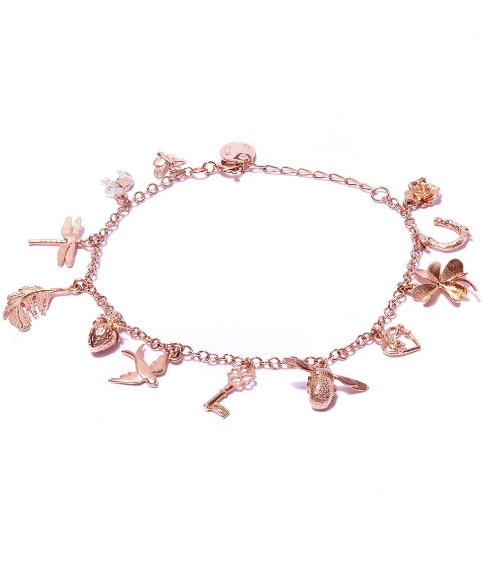 rose gold charm bracelet gallery jacuzfh