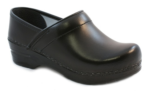 sanita shoes sanita menu0027s professional clog in black pu (box) leather - factory 2nd aipdvlr