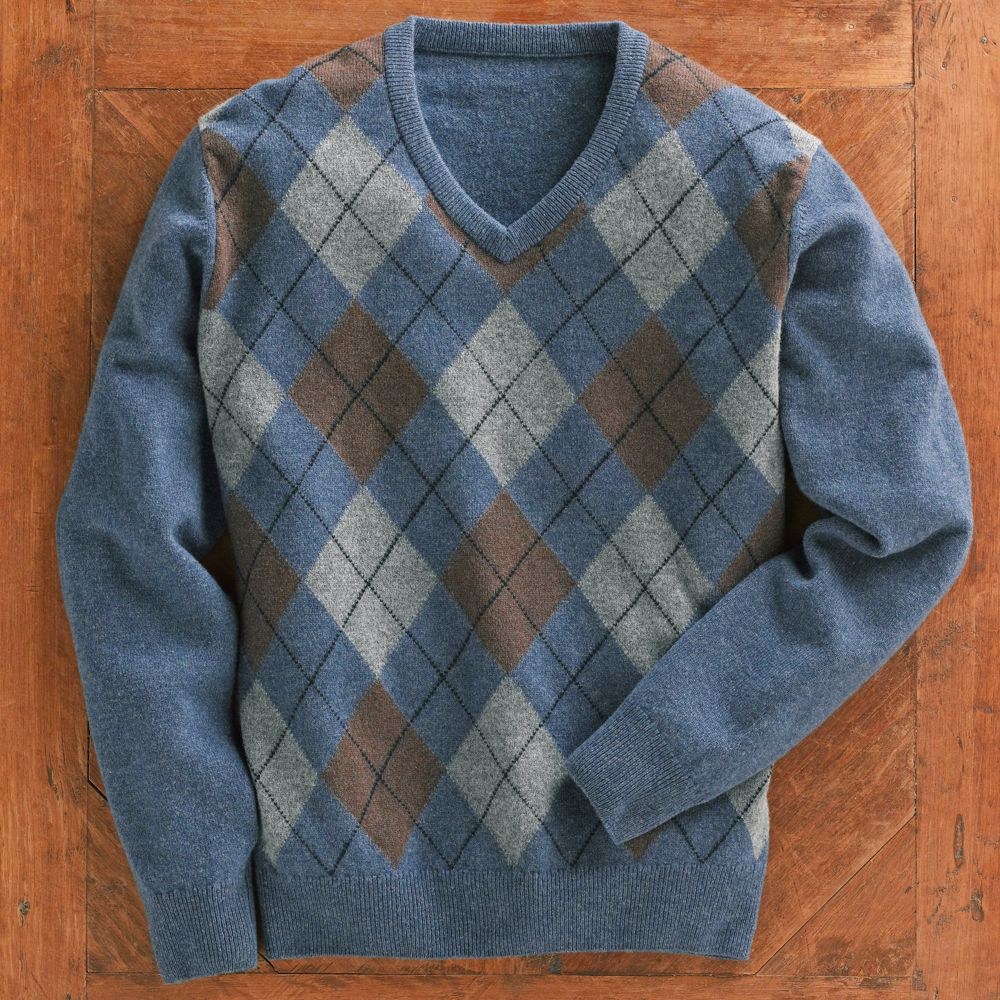 scottish lambu0027s-wool argyle sweater - national geographic store xoyykzk