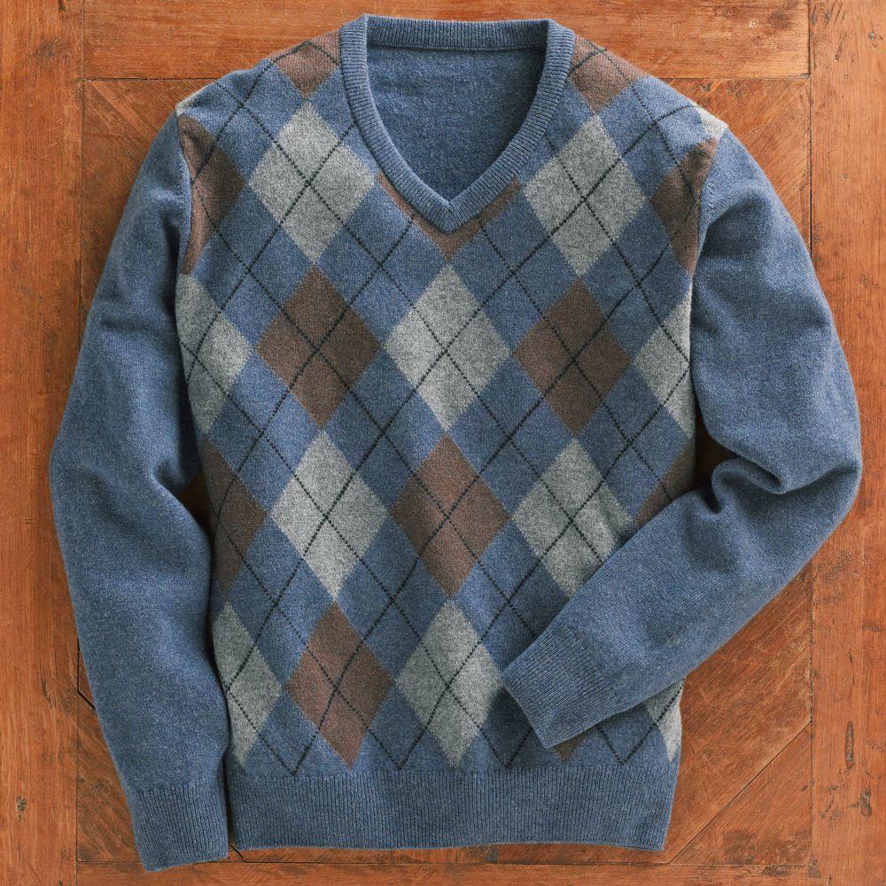 scottish lambu0027s-wool argyle sweater - national geographic store xoyykzk