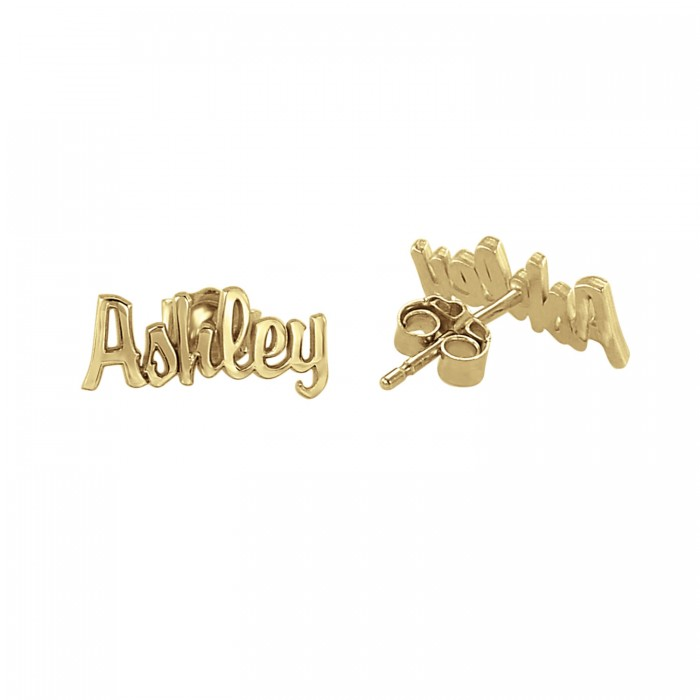 script name earrings personalized jewelry nqmsxot