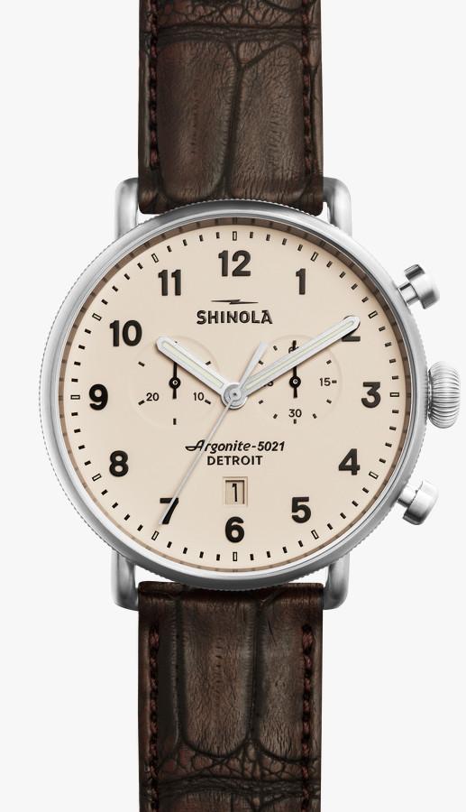 shinola chronograph watch qqpwbrs