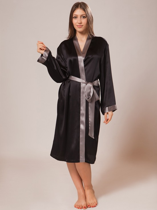 silk robe luxury silk robe_black/charcoal luxury silk robe_black/charcoal ... rwmtero