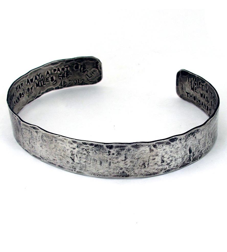 silver cuff bracelet ... custom-silver-cuff-bracelet-laurel-hill-1383836775 kygmmei