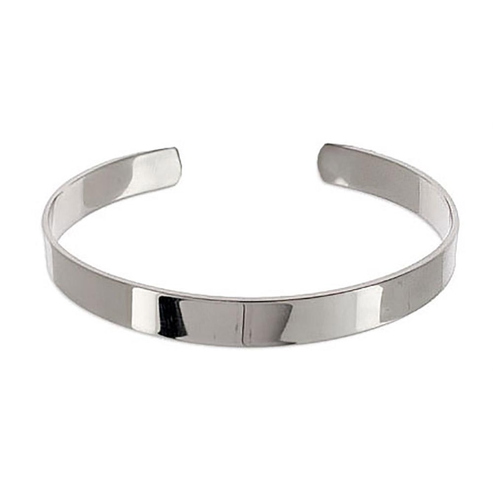 silver cuff bracelet engravable stainless steel cuff bracelet gowawjq