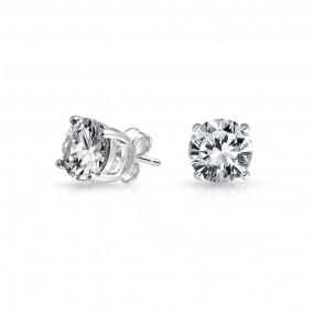 silver stud earrings ... bling jewelry cz stud earrings 925 sterling silver whegycb