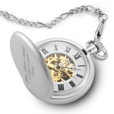 skeleton pocket watch emytjjw