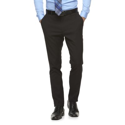 slim fit dress pants menu0027s apt. 9® slim-fit premier flex dress pants wvopgyd