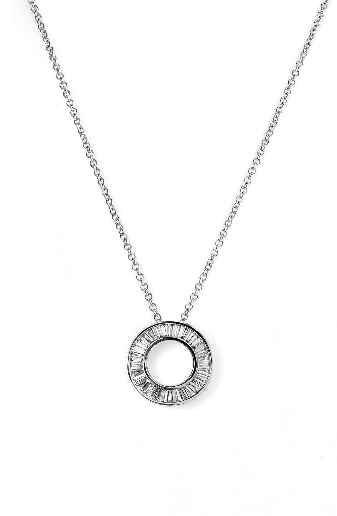 small pendant necklace womenu0027s bony levy u0027circle of lifeu0027 small diamond pendant necklace  (nordstrom exclusive) wikfiat