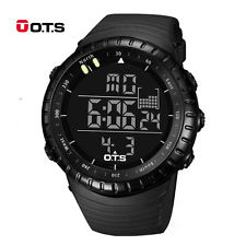 sports watches for men men military army sport wrist watch analog digital waterproof stainless  steel iktntns