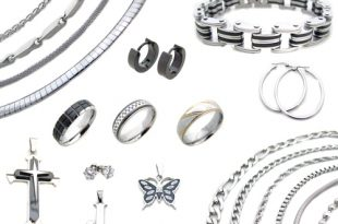 stainless steel jewelry ... qskpbjd