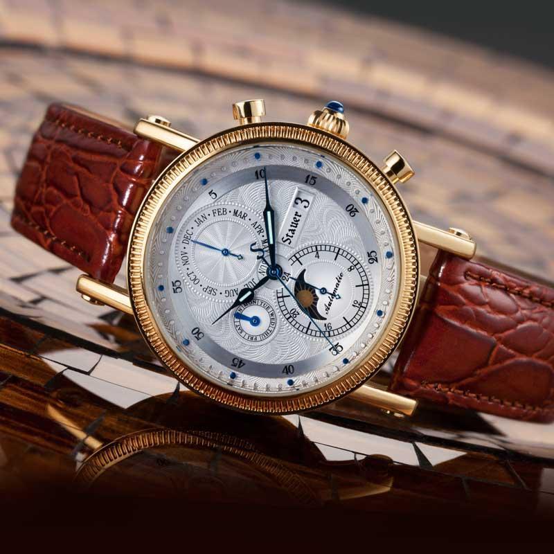 stauer watchmaker automatic watch LSIOPUD