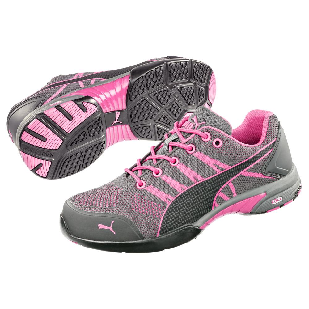 steel toe shoes for women puma celerity womenu0027s low steel toe work shoe 642915 ... wjsyhvy