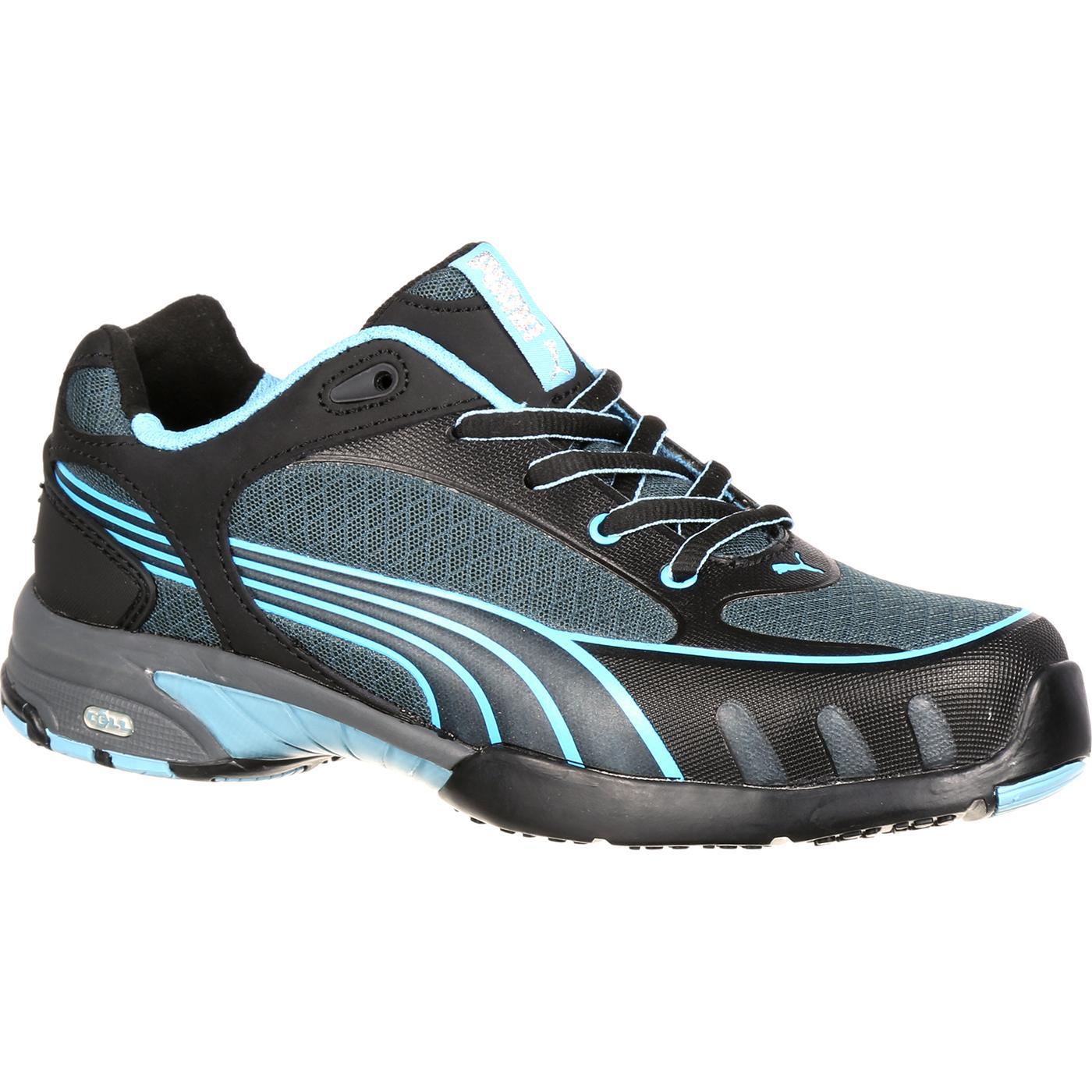 steel toe shoes for women puma fuse motion womenu0027s steel toe static-dissipative work athletic shoe, ,  large rixzxie