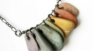 stone jewelry i love the look of the rocks on a wire like this, great idea to bzkxjki
