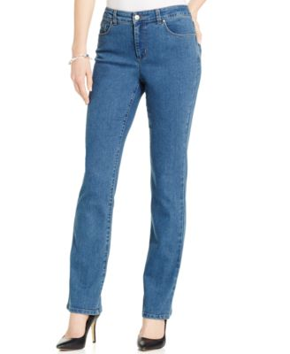 straight leg jeans charter club petite lexington straight-leg jeans, created for macyu0027s ntlsabh