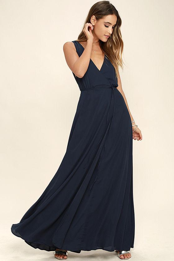 strictly ballroom navy blue maxi dress 1 ujnqpri