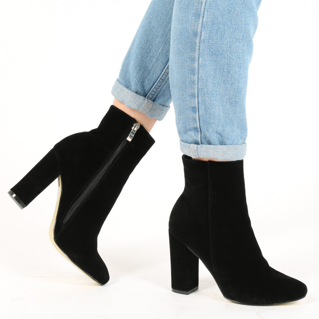 suede ankle boots presley ankle boots in black faux suede mvfvxgf