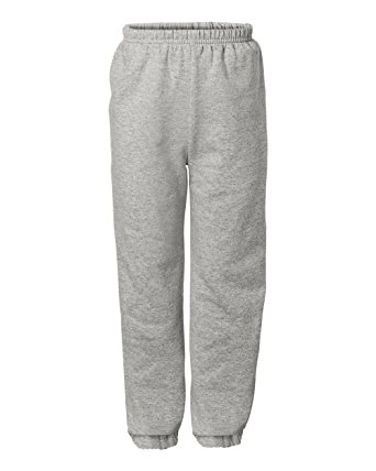 sweat pants 18200 gildan heavy blend adult sweatpants at amazon menu0027s clothing store:  sweatpants with elastic npewmxr