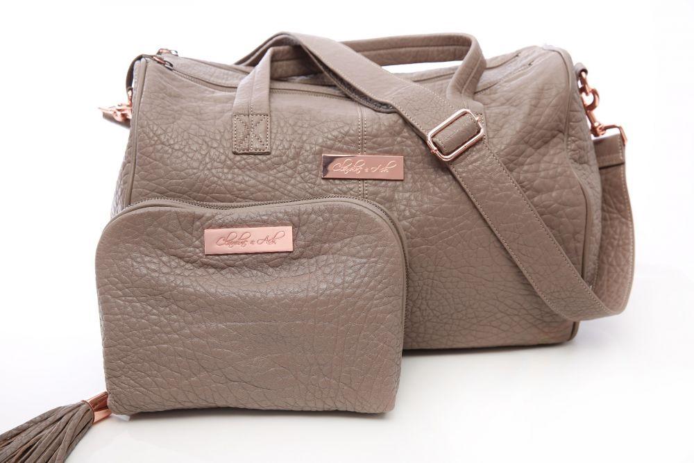 the havana - leather nappy bag qwozmoa