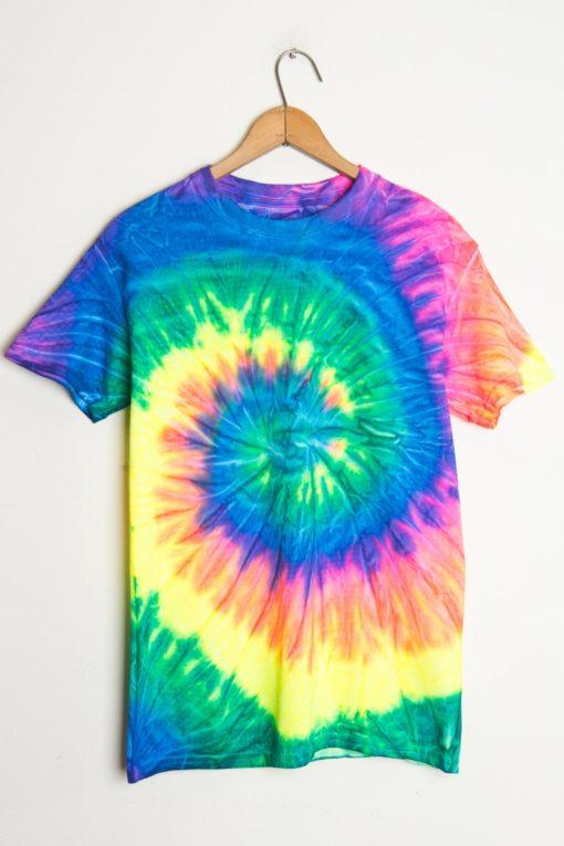 tie dye shirt neon rainbow tie dye shirts mwueyfi