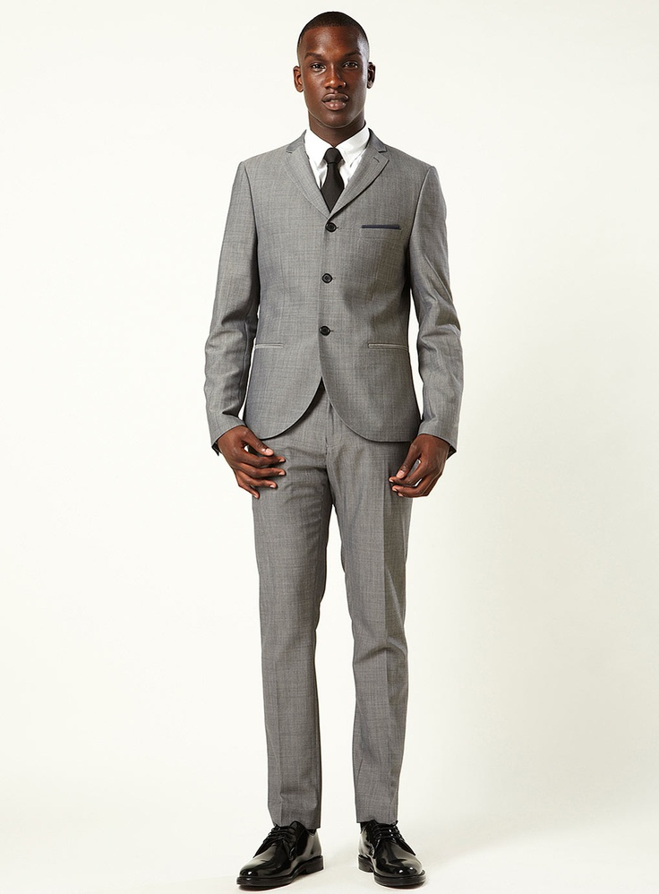 topman suits $250 | grey gatsby two-piece skinny suit | topman ewcnqlt
