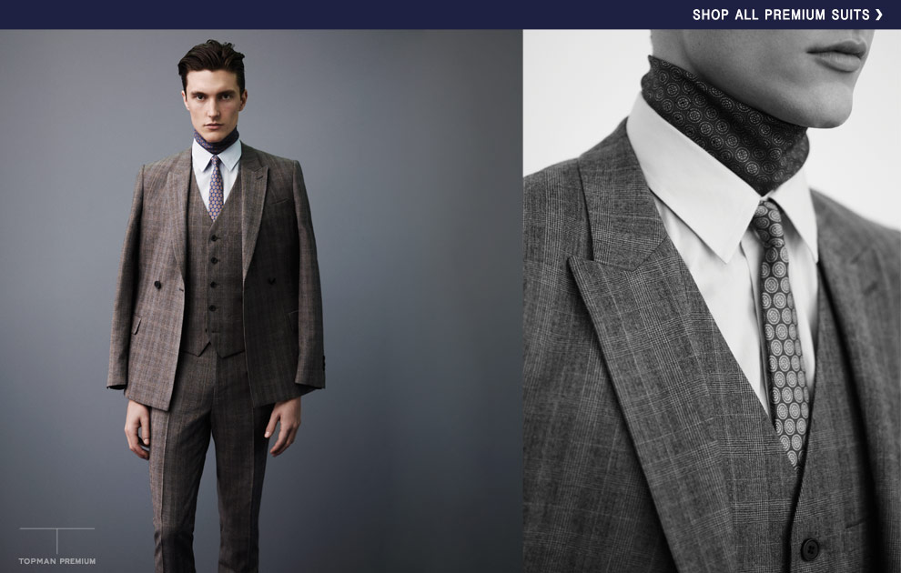 topman suits autumn winter suits preview - premium suits - look 4 zjnkqjc