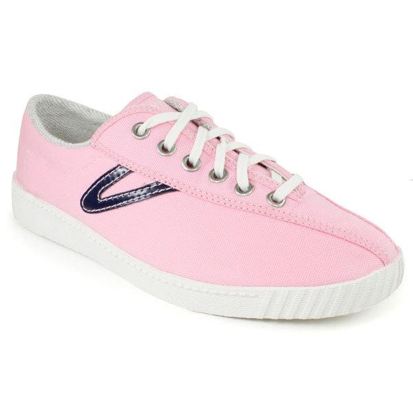 tretorn shoes tretorn tretorn womenu0027s nylite canvas pink/navy shoes dfqcybp