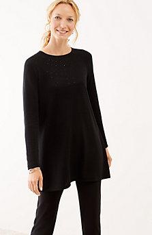 tunic sweater shimmering beads sweater tunic ajmlpwq