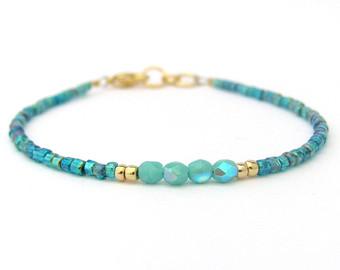 turquoise bracelet | etsy jzkzmje
