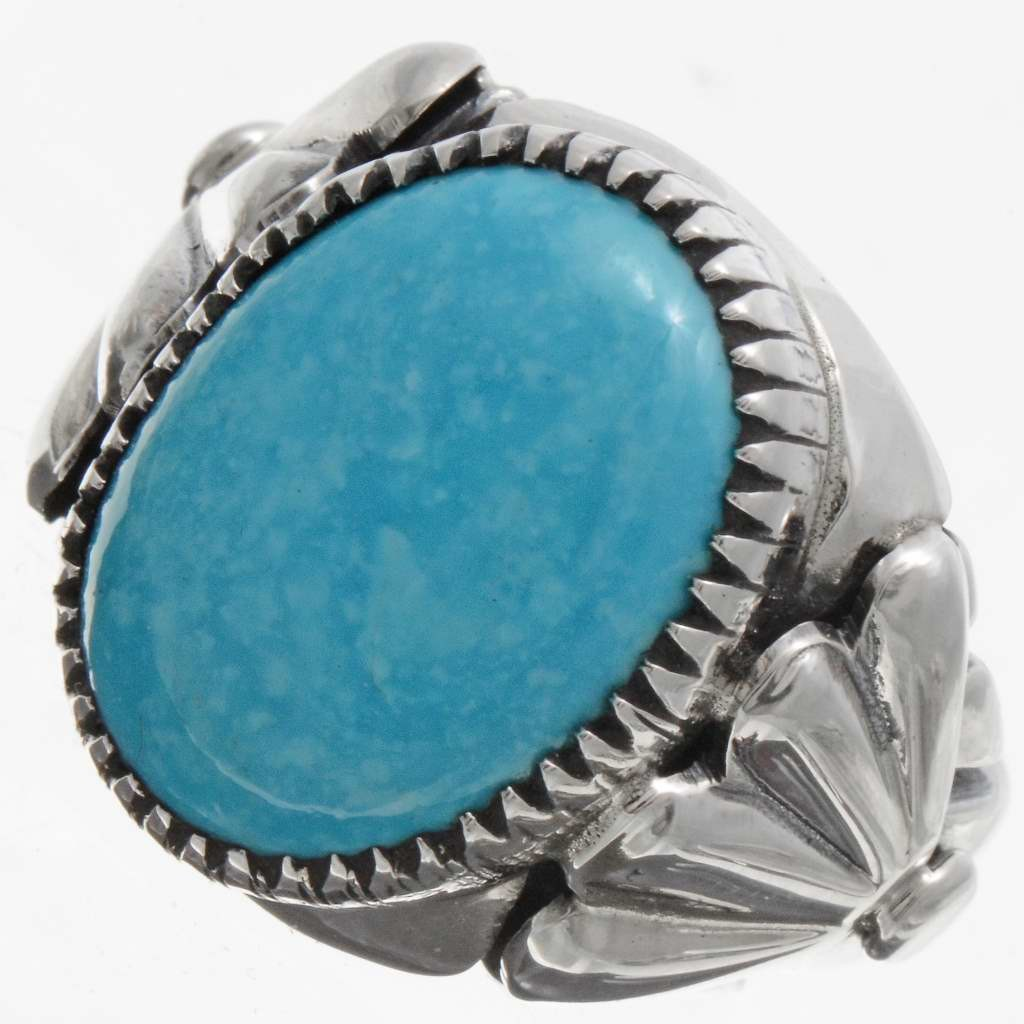 turquoise rings blue turquoise mens ring 21628 qdhjkcy