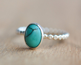 turquoise rings sterling silver turquoise ring - genuine turquoise ring - oval turquoise  ring - december btxfmmy