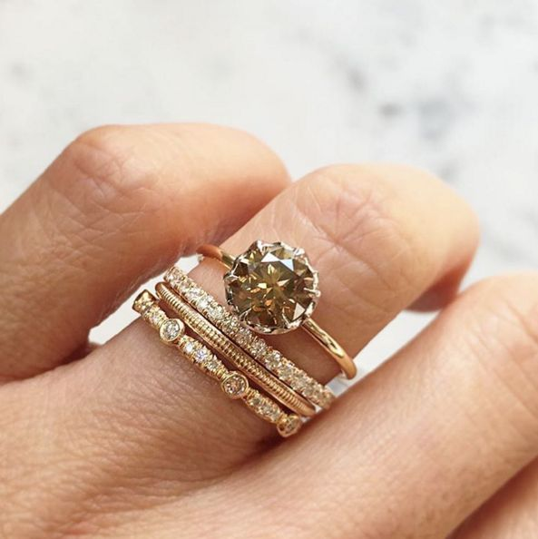 unusual engagement rings 21 engagement rings that are perfect for the unconventional bride | the  huffington post epmbrer
