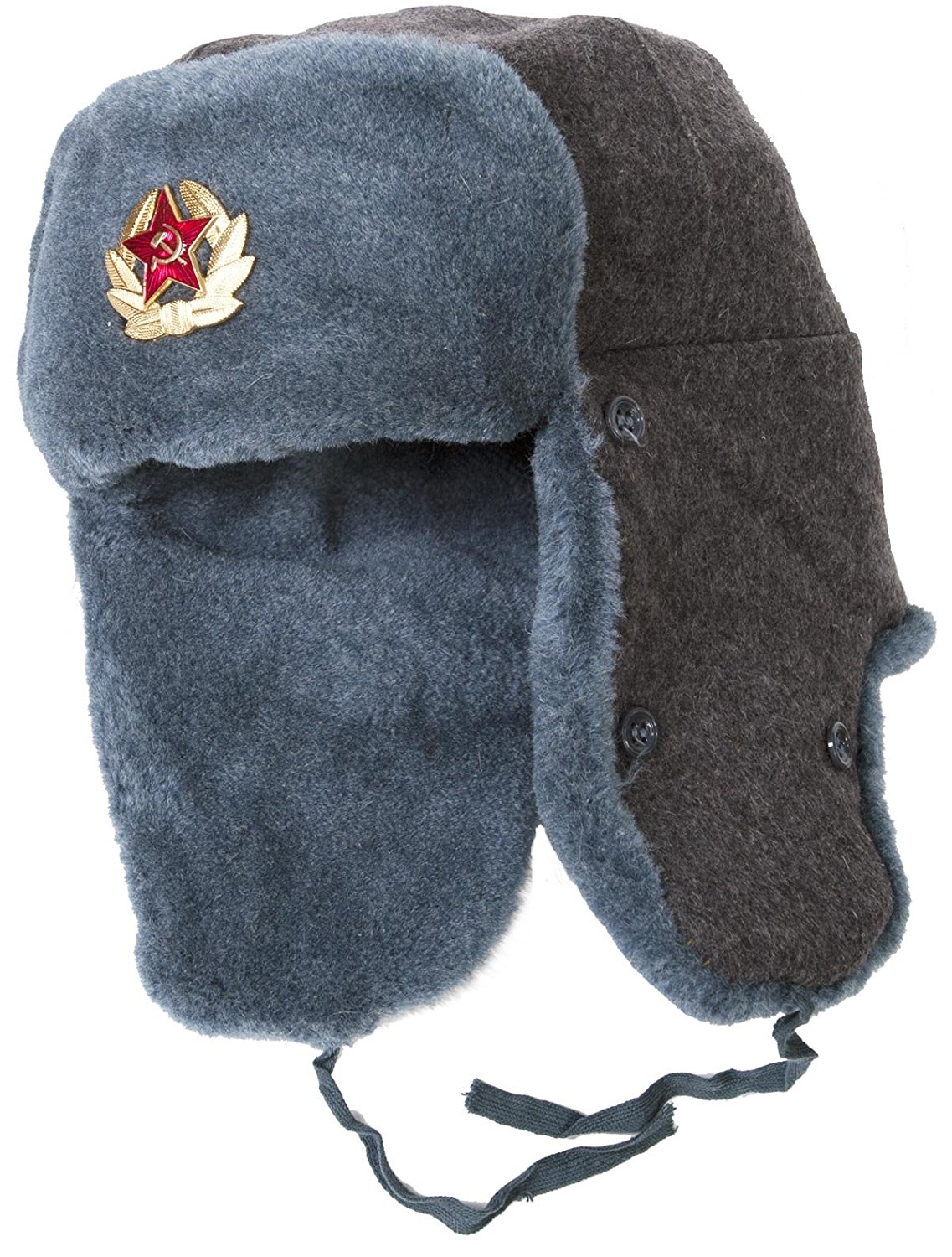 ushanka hat authentic russian army ushanka winter hat, with soviet army soldier  insignia at amazon menu0027s zflniuz