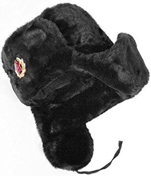 ushanka hat hat russian ushanka black-62 soviet army soldier hocdlhs