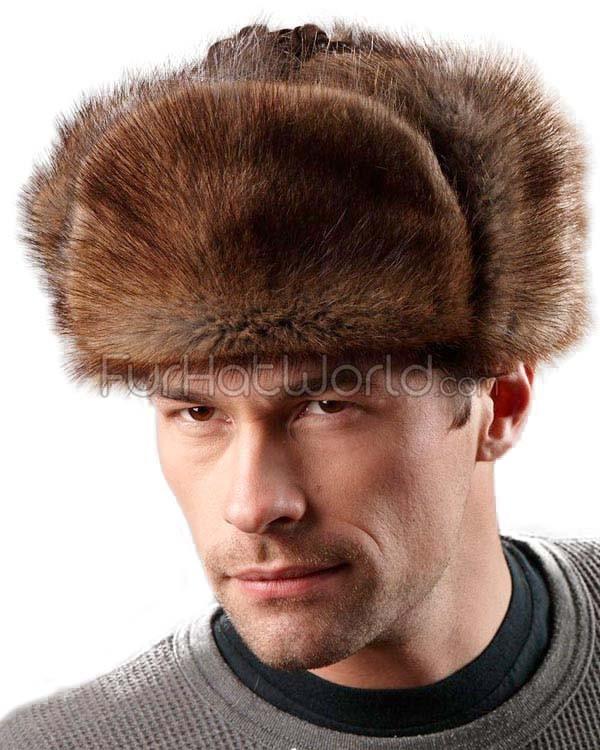 ushanka hat the muskrat russian trooper hat aqcceya
