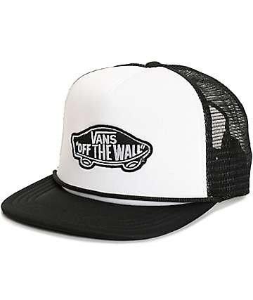 vans classic patch trucker hat nxbktgl