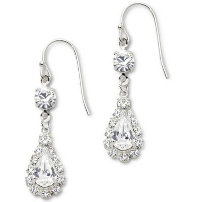 vieste® rhinestone earrings gspkcdg