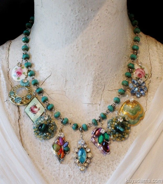 vintage costume jewelry now i know what i am going to do with the boxes of costume · okxqyri
