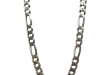 vintage heavy sterling silver chain necklace italy saljdxe